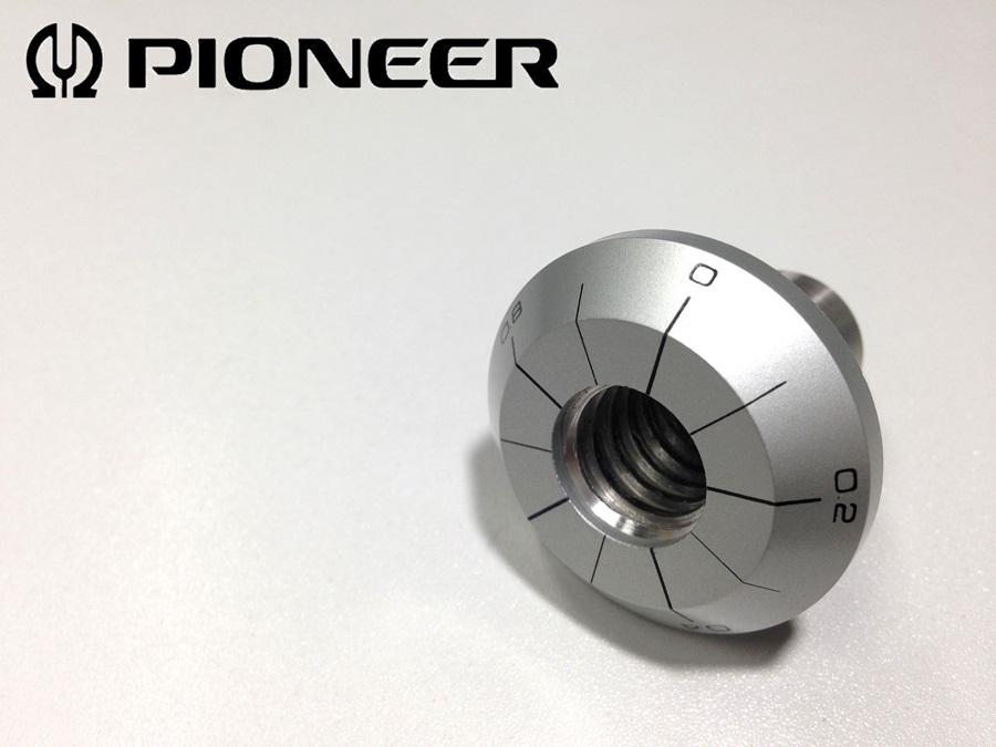 PLシリーズ用 針圧目盛リング (PI01)