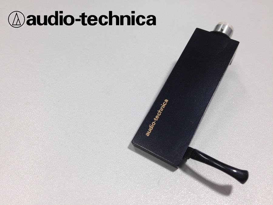 美品 audio technica AT-LT13a ヘッドシェル リード線付 重量約13g (HE02)