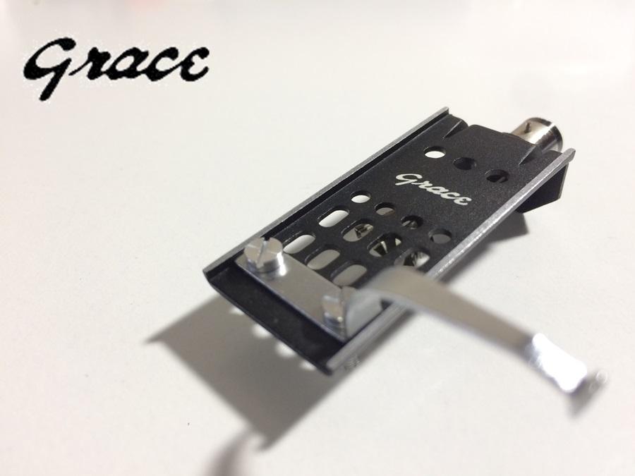 美品 GRACE HS-3 アルミプレス加工 重量約7g リード線付 (HE12)