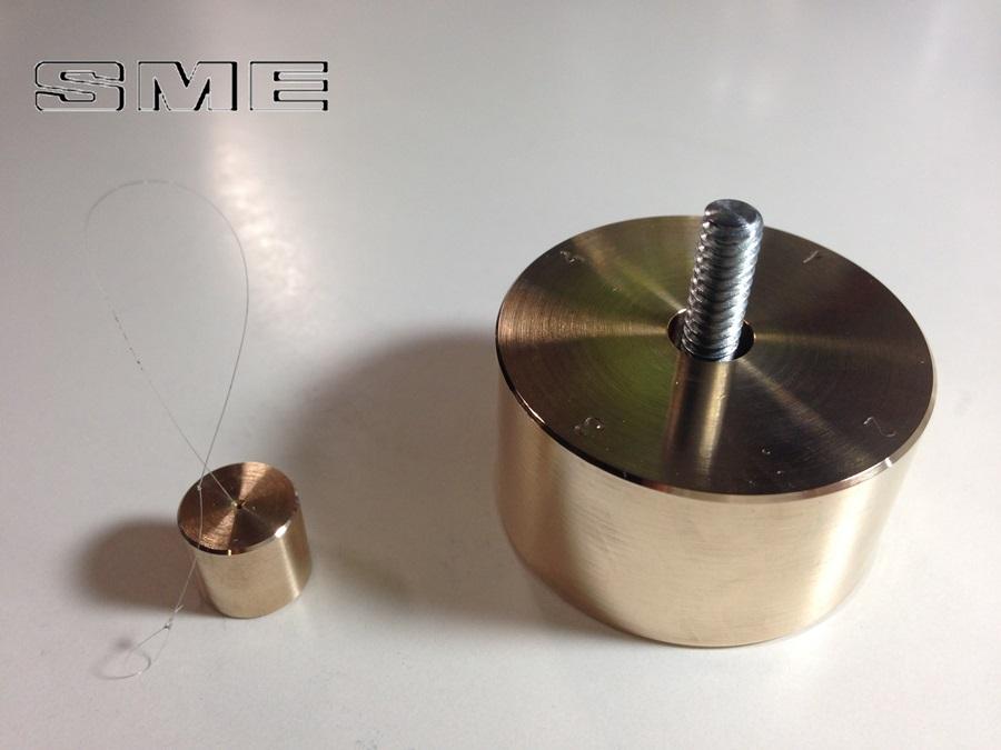 SME 3009 S2 mproved用 真鍮製 ウエイト 重量約167g IFCウエイト 重量約6g セット (SM16)