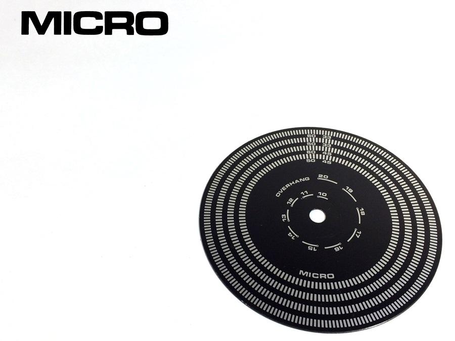 良品 MICRO MST-105 オーバーハングゲージ付 ストロボスコープ (MI03)