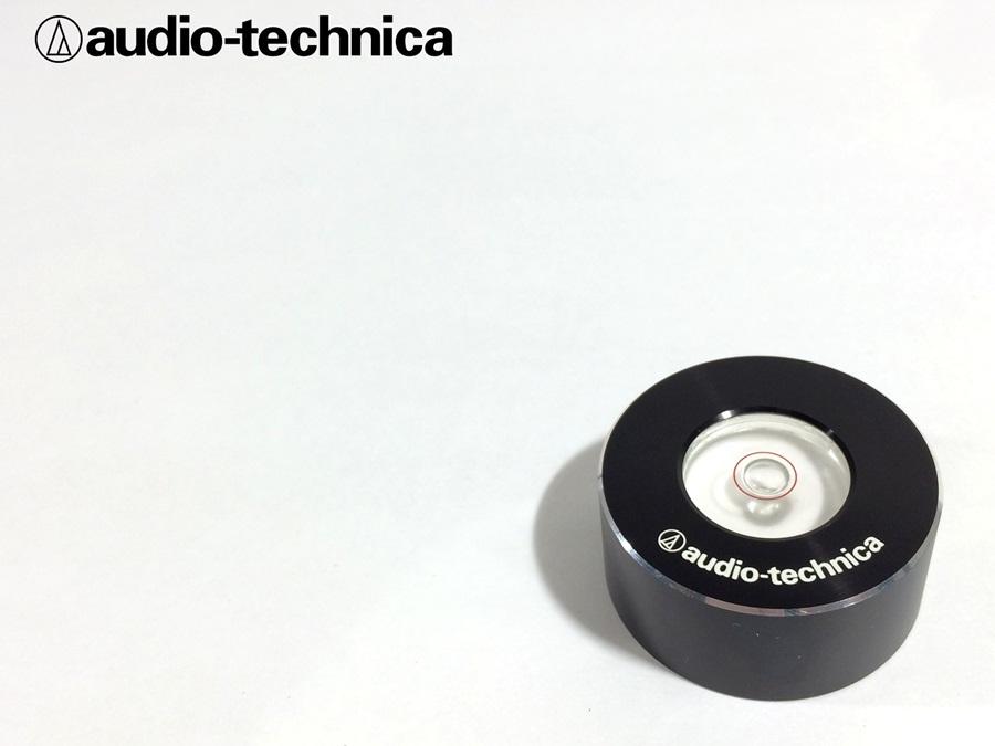 美品 audio-technica AT-615 水準器 (AUT03)